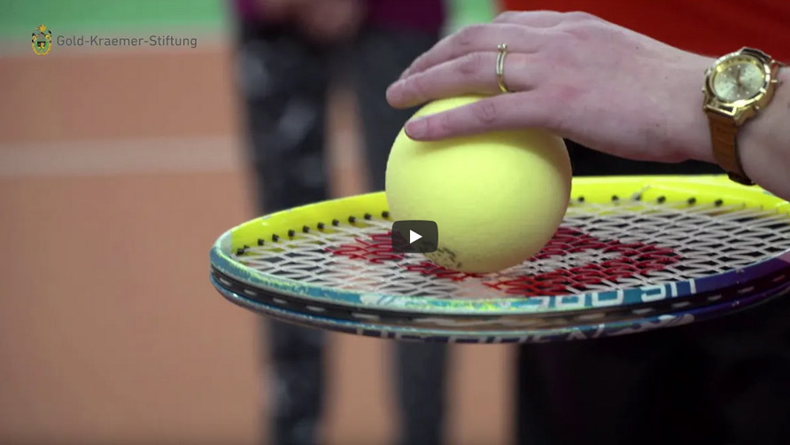 Vorschau - YouTube-Video - Der erste Blindentennis-Workshop Deutschlands